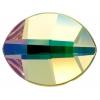 Swarovski Pure Leaf 2204 14x11mm Luminous Green Crystal